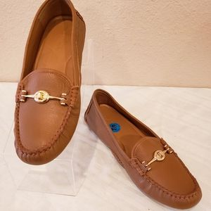 COACH Arlene Turnlock Driver Moccasins Loafers